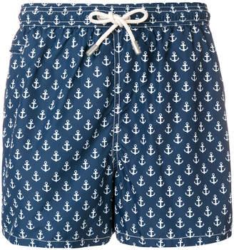 MC2 Saint Barth anchor drawstring swim shorts
