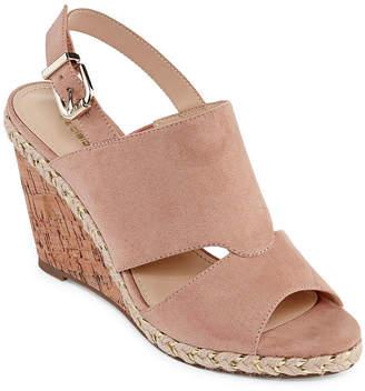 Liz Claiborne Womens Johanna Wedge Sandals