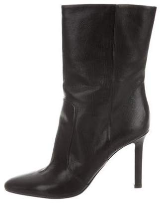 Tamara Mellon Leather Ankle Boots