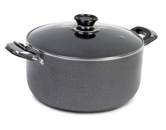 Imusa Hammered Aluminum Round Dutch Oven