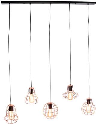 Uma Enterprises Modern Reflections 5-Light Pendant
