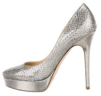 Jimmy Choo Glitter Cosmic Pumps