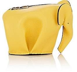 Loewe Women's Elephant Coin Purse - Yellow