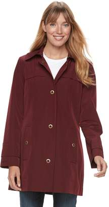 London Fog Tower By Women's TOWER by Grommet Raincoat