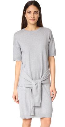 Vince Tie Sleeve Dress $195 thestylecure.com