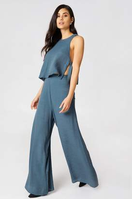 Hommage Top & Pants Set Blue