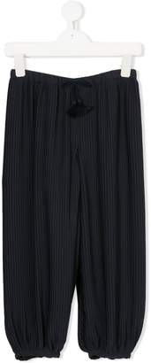 Chloé Kids pleated trousers