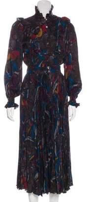 Ungaro Vintage Printed Dress