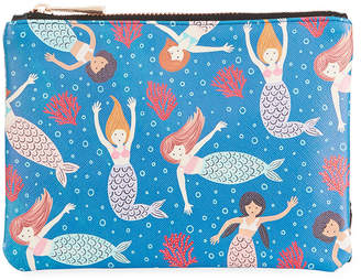 Studio Oh Mermaid Tales Zippered Pouch, Medium