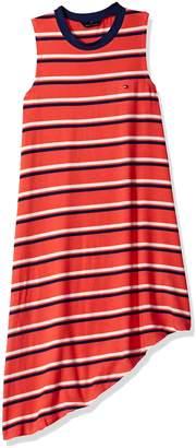 Tommy Hilfiger Big Girls Asymmetrical Dress