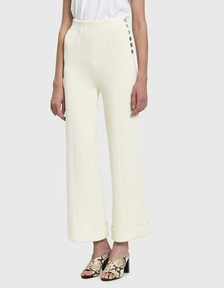 3.1 Phillip Lim Knit Sailor Pant in Ecru