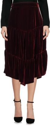 Rose' A Pois 3/4 length skirts - Item 35379540VO