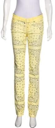 Dolce & Gabbana Low-Rise Straight-Leg Pants
