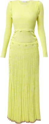 CHRISTOPHER ESBER pleated knitted dress