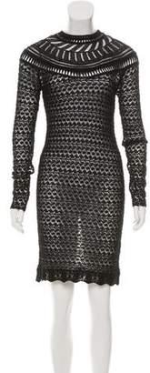 Isabel Marant Scalloped Open Knit Dress w/ Tags