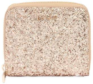 Furla Small Glitter Zip Around Wallet