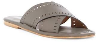 Matt Bernson Sage Crisscross Leather Slide Sandal