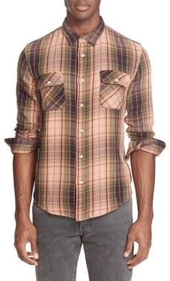 Men's Levi's Vintage Clothing Shorthorn Plaid Shirt $195 thestylecure.com