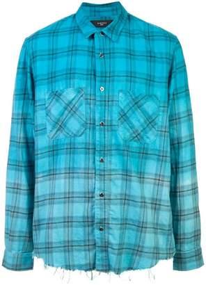 Amiri plaid shirt