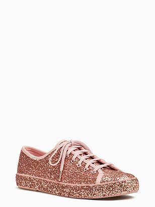 Kate Spade Keds x kickstart all over glitter sneakers