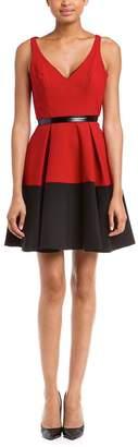 ABS by Allen Schwartz Red Party Dress