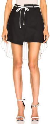 Monse Shirt Back Skirt in Black | FWRD