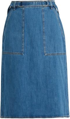 MiH Jeans Juno denim skirt