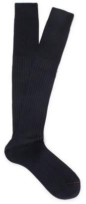 Loro Piana Ribbed Cashmere And Silk-Blend Socks