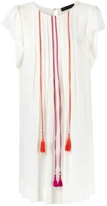 Talie Nk embroidered silk dress