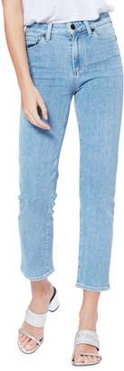 Paige High-Rise Straight Ankle Jeans