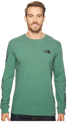 The North Face Long Sleeve Have You Heard Well-Loved Cotton Tee Men's T Shirt