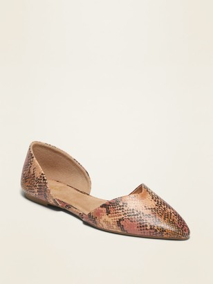 Old Navy Pointy-Toe D'Orsay Flats for Women