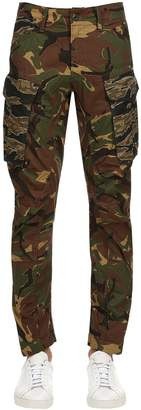 G Star Rovick Rc 3d Tapered Cotton Cargo Pants