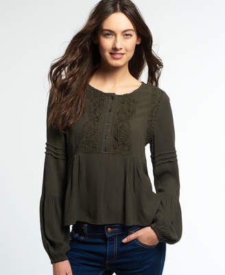 Superdry Roswell Lacy Blouse