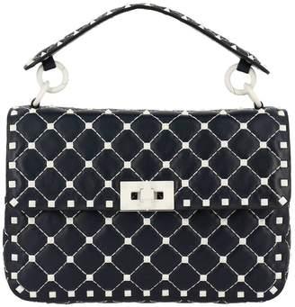 Valentino GARAVANI Handbag Free Rockstud Spike Medium Bag In Genuine Leather With Micro Studs And Shoulder Strap