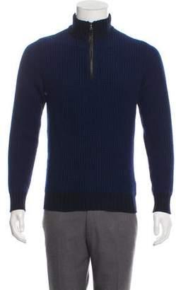 Barneys New York Barney's New York Merino Wool & Cashmere Sweater
