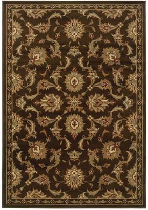 """Oriental Weavers Closeout! Oriental Weavers Area Rug, Pember 1330N Meshed Brown 1'10"""" x 7'3"""" Runner Rug"""