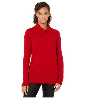 Tribal Long Sleeve Cashmere Cowl Neck Sweater