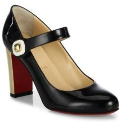 Christian Louboutin  Christian Louboutin Bibaba Patent Leather Mary Jane Pumps