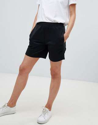 Fred Perry Track Short With Logo Tape Detail