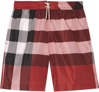 BURBERRY Mini jeffries swim shorts 4-14 years $69 thestylecure.com