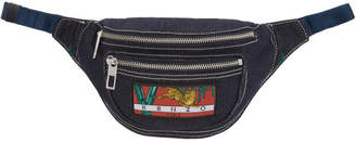 Navy Denim Bumbag Pouch