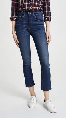 Rag & Bone Hana High Rise Cropped Jeans