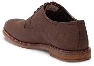 Ben Sherman Brent Plain Toe Leather Derby