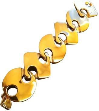 Paco Rabanne Vintage Gold Metal Bracelets