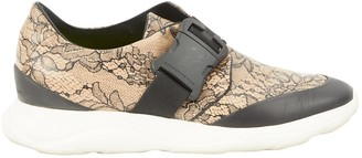 Christopher Kane Leather low trainers