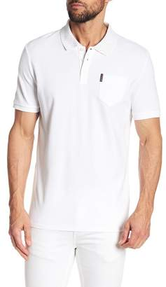 Ben Sherman Print Collar Polo Shirt