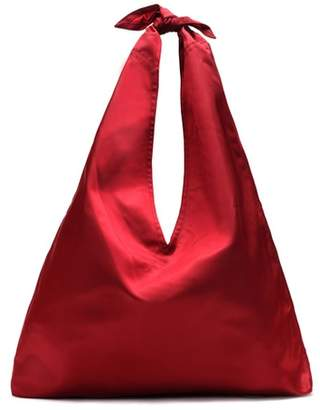 The Row Bindle satin shoulder bag