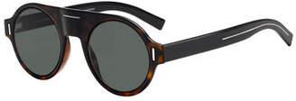 Christian Dior Men's Fraction 2 Plastic Sunglasses