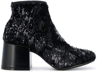 MM6 MAISON MARGIELA sequin embellished ankle boots